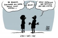 Debatte über CDU-Vorsitz: Merkel will sich raushalten