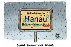 """Elf Tote in Hanau: Schütze hatte laut Generalbundesanwalt """"zutiefst rassistische Gesinnung"""""""