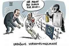 Folge des Versagens der Weltgemeinschaft bei Syrien-Politik: Erdoğan erpresst Europa mit Leid der Geflüchteten
