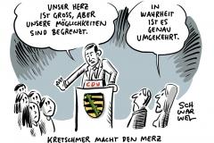 """Sachsens Ministerpräsident Kretschmer gegen Aufnahme von Flüchtlingskindern: """"Unser Herz ist groß, aber unsere Möglichkeiten sind begrenzt"""""""
