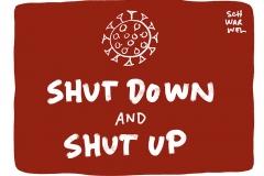 Shutdown in Deutschland: Kein Urlaub, keine Gottesdienste, kein Shopping