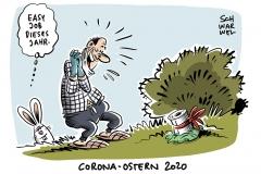 Corona-Epidemie in Deutschland Was Ostern erlaubt ist