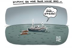 Seenotrettung und Corona-Krise: Seit elf Tagen wartet Rettungsschiff Alan Kurdi im Mittelmeer auf Einfahrt in europäischen Hafen