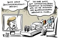 """Merkel zu Corona-Lockerungen: Keine """"Öffnungsdiskussionsorgien"""""""