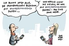 #Widerstand2020: Mitmach-Partei von rechts