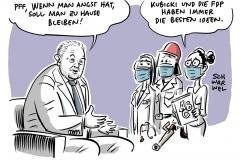 """Kubicki: """"Wenn man Angst hat, soll man zu Hause bleiben"""" – Nicht-Wissen als Grundlage für Forderung nach Lockerungen"""