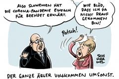 Corona Pandemie Merkel