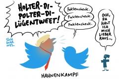 Auf Faktencheck verlinkt: Twitter widerlegt Donald Trumps Wahl-Tweet