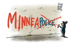 """""""Defund the Police"""": Mehrheit des Stadtrats von Minneapolis will örtliche Polizei durch neue Organisation für öffentliche Sicherheit ablösen"""