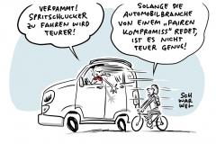 """Höhere Kfz-Steuer für Spritschlucker: Automobilbranche spricht von """"fairem Kompromiss"""""""