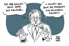 """Laschet über """"Rumänen und Bulgaren"""": Aussage mit System"""