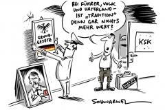 Rechtsextreme in der Bundeswehr: KSK wird teilweise aufgelöst
