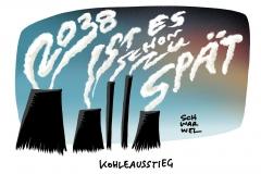 Abstimmung per Hammelsprung: Bundestag beschließt Kohleausstieg