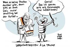 """Deutsche Polizei und Rassismus: Seehofer stellt """"Racial Profiling""""-Studie ein"""