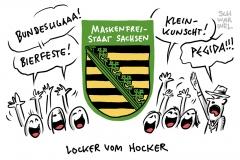 Sachsen plant Lockerungen: Ab 1. September wieder Großveranstaltungen mit mehr als 1000 Personen