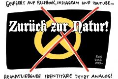Rechtsextremismus: Youtube sperrt Identitäre Bewegung-Konten