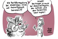 Klage der AfD in Thüringen erfolgreich: Weimarer Verfassungsgericht kippt Paritätsregelung