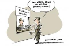 """""""Unglaubliche Schlamperei"""": Bundeswehr vermisst mehr als 60.000 Schuss Munition"""