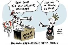 """Heimatschutzprogramm und Militarisierung: """"Dein Jahr für Deutschland"""""""