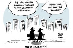 Trump begründet Abzug mit aus seiner Sicht zu geringen Verteidigungsausgaben Deutschlands: USA wollen knapp 12.000 Soldaten aus Deutschland abziehen