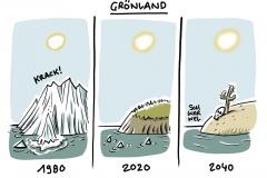 Folge des Klimawandels: Grönlands Eisschild ist verloren