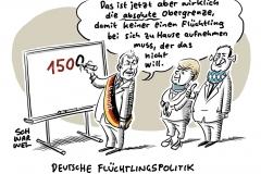 Geplante Aufnahme von 1500 Flüchtlingen: Söder trägt Einigung von Merkel und Seehofer mit