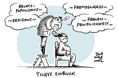"""Sexistische Beleidigung gegen Sawsan Chebli auf """"Tichys Einblick"""": Tichy tritt von Vorsitz der Ludwig-Erhard-Stiftung zurück"""