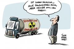 Atommüllendlager in Deutschland gesucht: Gorleben ist raus – Wahl könnte auf Bayern fallen, Söder offen