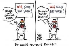 """""""30 Jahre Deutsche Einheit: """"Wir sind das Volk!"""""""