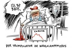 """Video des infizierten US-Präsidenten Trump: """"Ich werde bald zurück sein"""""""