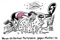 Coronakrise in der Hauptstadt: Gesundheitsminister Spahn rügt Partyszene und fordert mehr Einsatz von Berlin