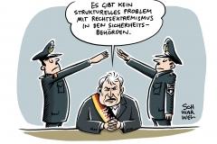 """Rechtsextremismus bei deutscher Polizei: Seehofer sieht """"kein strukturelles Problem mit Rechtsextremismus in den Sicherheitsbehörden"""""""