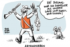 Artensterben trifft auch Deutschlands Feldhase, Iltis und Feldhamster: Es fehlt naturverträglichere Land- und Forstwirtschaft