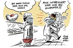 """""""Erbsenbratling"""" statt """"Veggie-Burger"""": EU-Parlament verhandelt, ob vegetarische oder vegane Speisen an Fleisch erinnern dürfen, Hamsterkäufe gehen wieder los: """"Es gibt genug Toilettenpapier"""""""""""