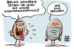Überforderte Gesundheitsämter: Berlin beendet lückenlose Corona-Nachverfolgung