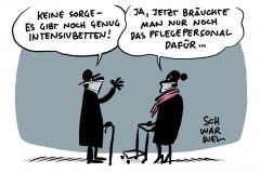 """""""Corona-Pandemie in Deutschland: Zahl der Intensiv-Patienten steigt"""