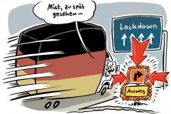 Schulen und Kitas geschlossen: Nächster bayerischer Landkreis im Lockdown