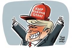 Wahlkampf ohne Maske und Abstand: Studie belegt 30.000 Corona-Fälle wegen Trump-Events