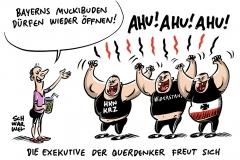 Verwaltungsgerichtshof urteilt: Fitnessstudios in Bayern dürfen doch öffnen