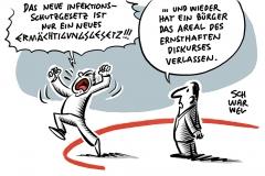 Kein Ermächtigungsgesetz wie 1933: Sachliche Kritik am neuen Infektionsschutzgesetz angebracht