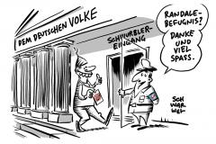 Auf Einladung von AfD-Abgeordneten: Beschimpfungen im Bundestag durch Gäste haben Nachspiel