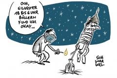 Silvester in der Pandemie Viel Krach ums Böllern