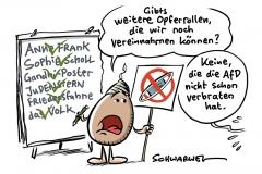 Demo in Hannover: Querdenkerin vergleicht sich mit Sophie Scholl – Ordner verliert Fassung