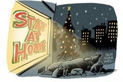 """""""Stay at home"""": Bundesländer einigen sich auf Corona-Regeln für Weihnachten und Silvester"""