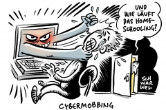 Coronavirus und Homeschooling: Corona-Pandemie verschärft Cybermobbing unter Schülern