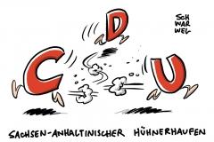 Sturz des CDU-Kronprinzen: Sachsen-Anhalts Innenminister Stahlknecht von Haselhoff entlassen
