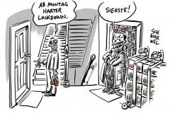 Schulen, Kitas und viele Geschäfte dicht: Sachsen geht ab Montag in harten Lockdown