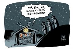Bundesweite Kontaktbeschränkungen: Leopoldina fordert harten Lockdown ab Weihnachten