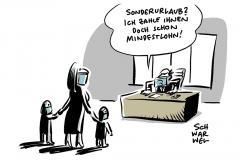 Wenn Arbeitgeber Möglichkeit zu Homeoffice nicht bieten oder dies im Unternehmen nicht möglich ist: SPD-Fraktion fordert Sonderurlaub für Kinderbetreuung