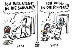 Corona-Krise in Deutschland: Schul-Neustart soll stufenweise erfolgen